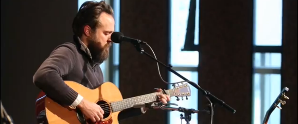 Iron and Wine in Studio 1A