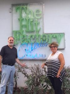 Jody Denberg with WFUV Program Director Rita Houston